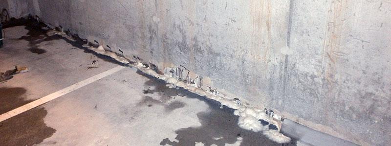 Etanchéité murs Soignies
